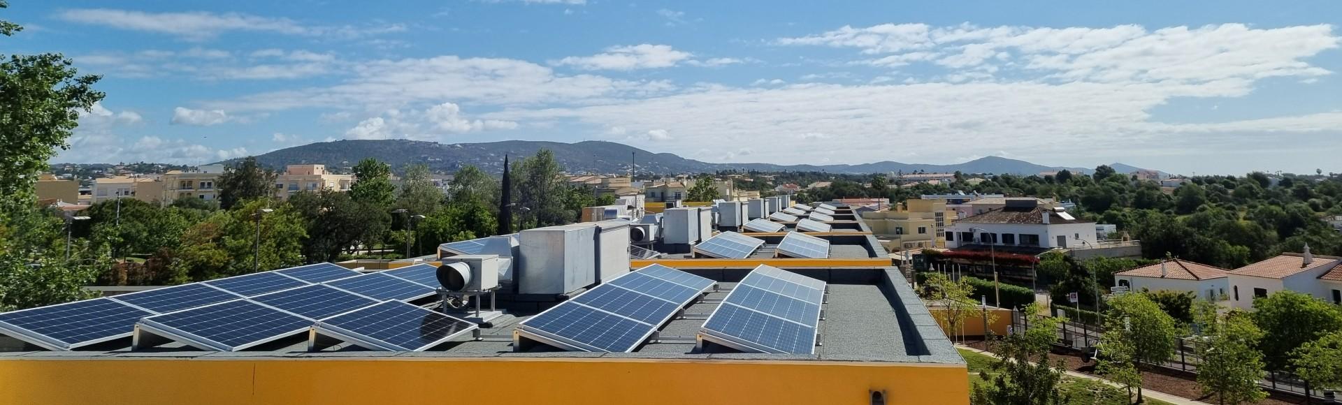 Energias renováveis: Fotovoltaico em Loulé