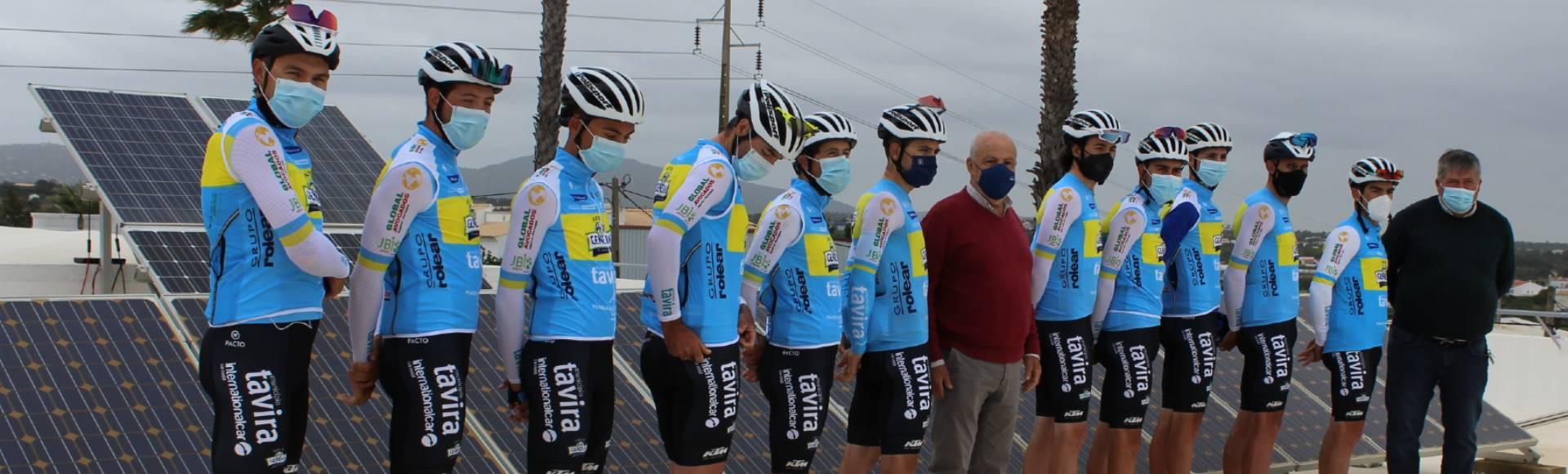 Grupo Rolear renova apoio ao Clube Ciclismo Tavira